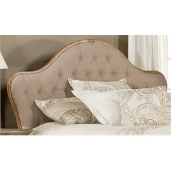 Merch-1188 Atlin Designs Tufted Panel Headboard in Beige-CB