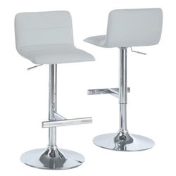 Merch-1188 Atlin Designs Hydraulic Lift Bar Stool (Set of 2)-AM