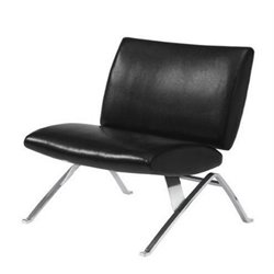 Merch-1188 Atlin Designs Modern Faux Leather Accent Chair-CB
