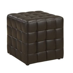 Merch-1188 Atlin Designs Faux Leather Ottoman-CB