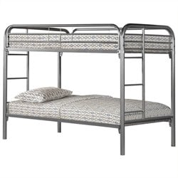 Rosebery Kids Bunk Bed in Silver