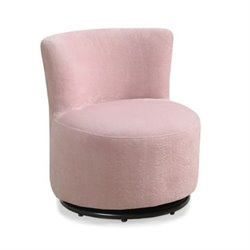Rosebery Kids Swivel Chair in Pink