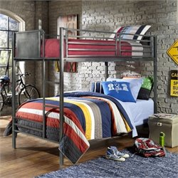 Rosebery Kids Bunk Bed in Black Steel
