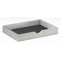 Mayline Napoli Hutch Trays in Silver (Set of 2)
