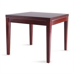Mayline Luminary Square End Table in Cherry