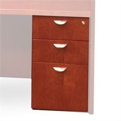 Mayline Mira 3 Drawer Pedestal File For 36