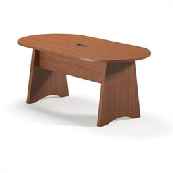 Mayline Brighton Racetrack 6' Conference Table
