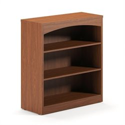 Mayline Brighton 3 Shelf Bookcase in Cherry
