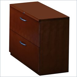 Mayline Corsica 2 Drawer Lateral Wood File with Unfinished Top