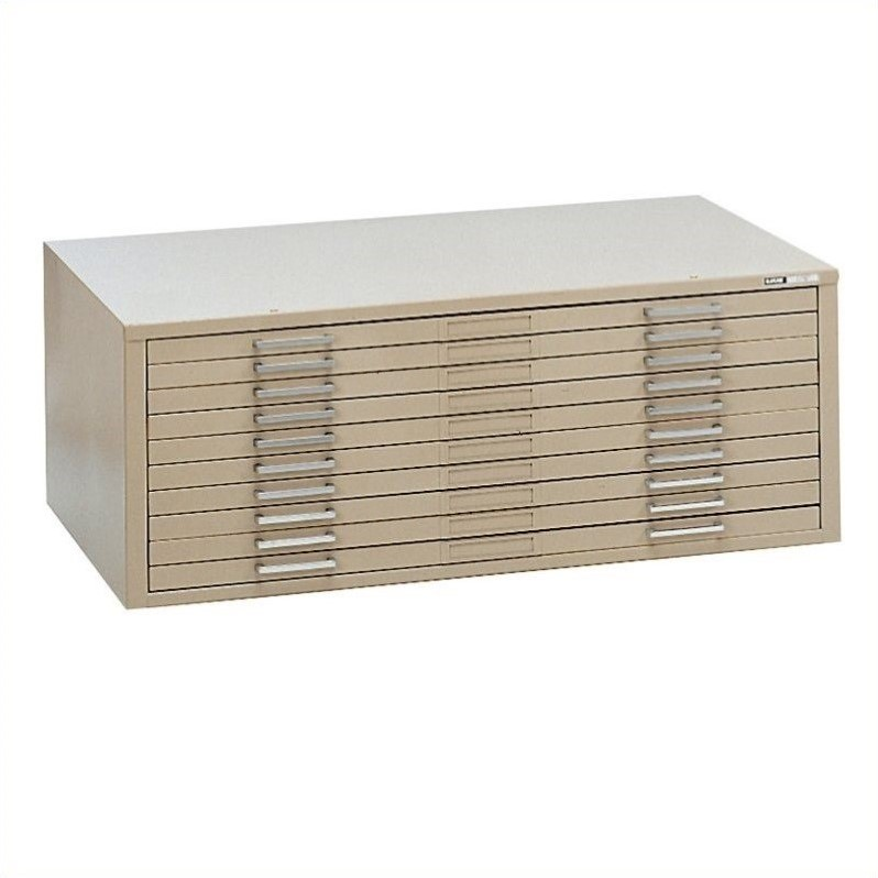 Mayline C-Files 10 Drawer Flat Files Cabinet (30