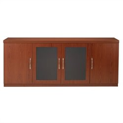 Mayline Aberdeen Low Wall Cabinet in Cherry