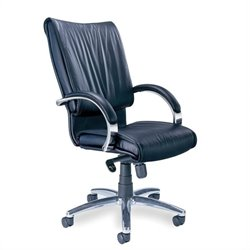 Mayline Mercado President Office Chair in Black