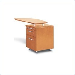 Mayline Napoli Pencil Box Filing Cabinet for Return in Golden Cherry