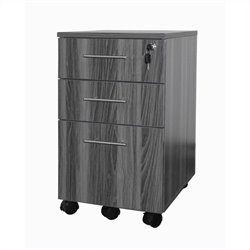 Mayline Medina Pedestal (Box-Box-File) in Gray Steel