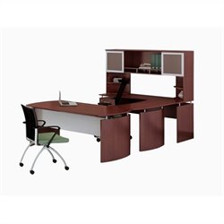Mayline Medina Series - Office Suite 33 in Mahogany