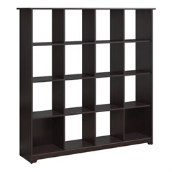 Bush Cabot 16 Shelf Bookcase in Espresso Oak