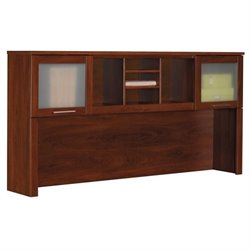 Bush Somerset  Hutch for 70 inch L-Desk in Hansen Cherry