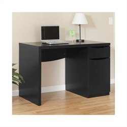 Bush Myspace Montrese Desk in Classic Black