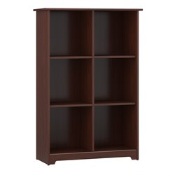 Bush Cabot 6-Cube Bookcase in Harvest Cherry