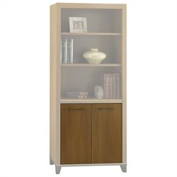 Bush Achieve Door Kit for Bookcase Warm Oak