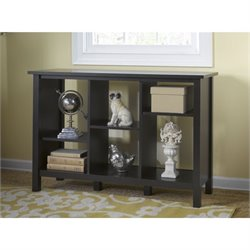 Bush Broadview 6 Shelf Bookcase in Espresso Oak