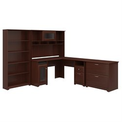 Bush Cabot 3 Piece Office Set in Cherry