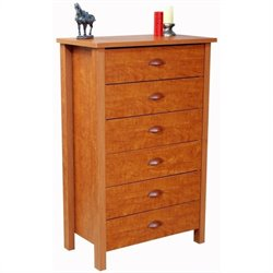 6 Drawer Chest in Cherry