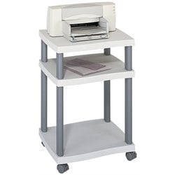 Deskside Printer Stand in Gray