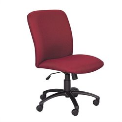 Safco Uber Big and Tall High Back Task Office Chair in Burgundy