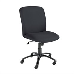 Safco Uber Big and Tall High Back Task Office Chair in Black