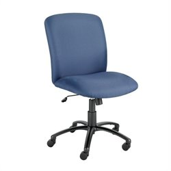Safco Uber Big and Tall High Back Armless Plastic Office Chair