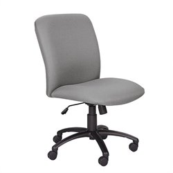 Big and Tall High Back Task Office Chair in Gray