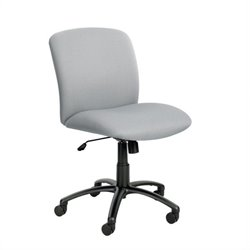 Big and Tall Mid Back Task Office Chair in Gray