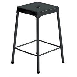 Steel Stool in Black