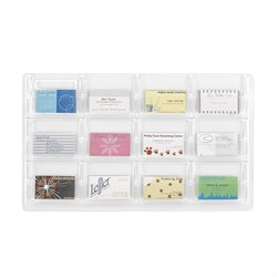 12 Business Card Display
