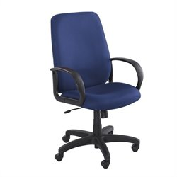 Blue Executive High-Back Office Chair