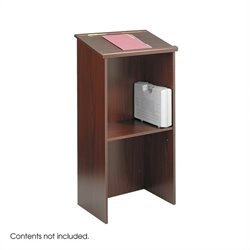 Mahogany Stand-Up Podium