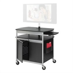 Flat Panel Multimedia Cart