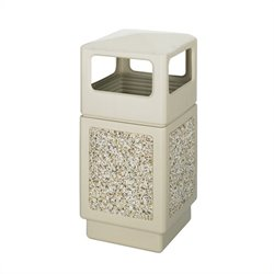 Safco Canmeleon Aggregate Panel -  Side Open -  38 Gallon