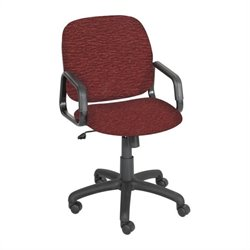 High Back Office Chair in Burgundy