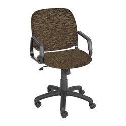 High Back Office Chair in Brown