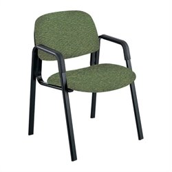 Safco Cava Urth High Back Guest Chair in Green