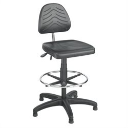 Safco Task Master Deluxe Dark Grey Workbench Drafting Chair/Drafting Chair