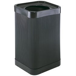 Safco At-Your-Disposal Receptacle in Black