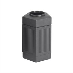 Safco Canmeleon Series Pentagon Indoor/Outdoor Receptacle (Small)