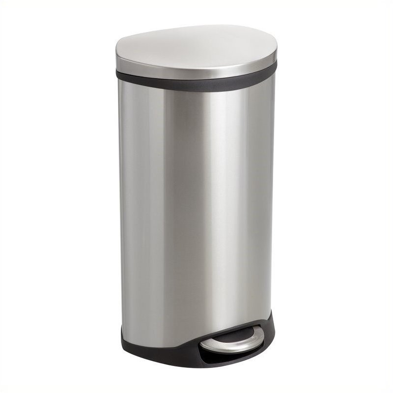 Receptacle - 7.5 Gallon in Stainless Steel