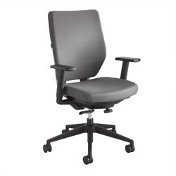 Task Office Chair with Arms in Gray