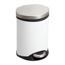 Safco Step-On Medical Receptacle - 1.5 Gallon in White