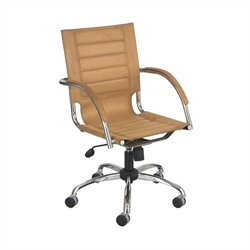 Managers Office Chair Camel Micro Fiber in Camel