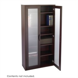 Modular Storage Tall Cabinet in Mahogany